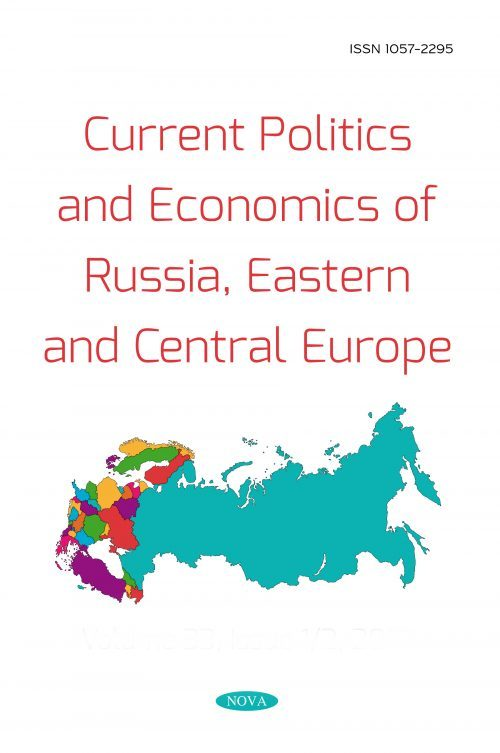 Current Politics and Economics of Russia, Eastern and Central Europe
