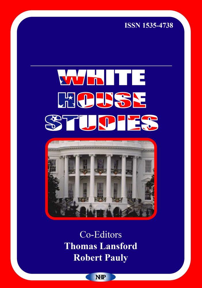 White House Studies Nova Science Publishers