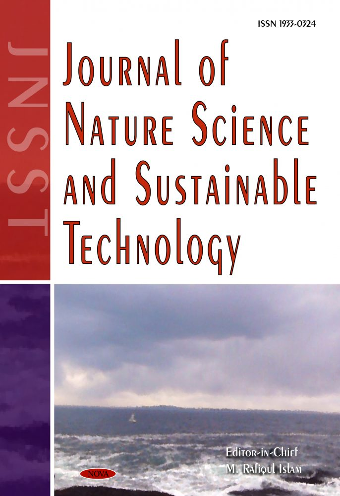 Journal Of Nature Science And Sustainable Technology Nova Science