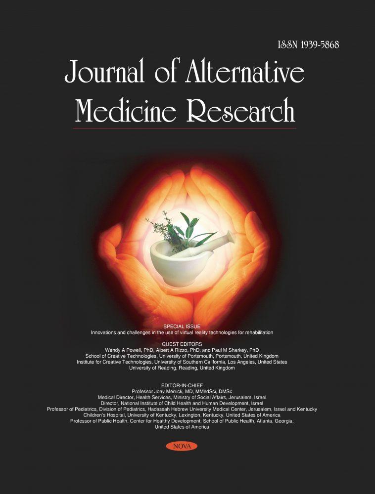 Journal Of Alternative Medicine Research Nova Science Publishers
