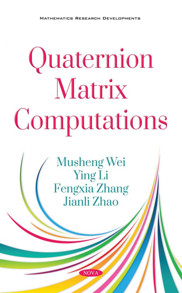 Quaternion Matrix Computations