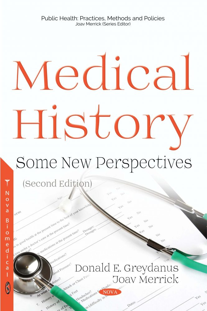 Medical History Some Perspectives Second Edition Nova Science