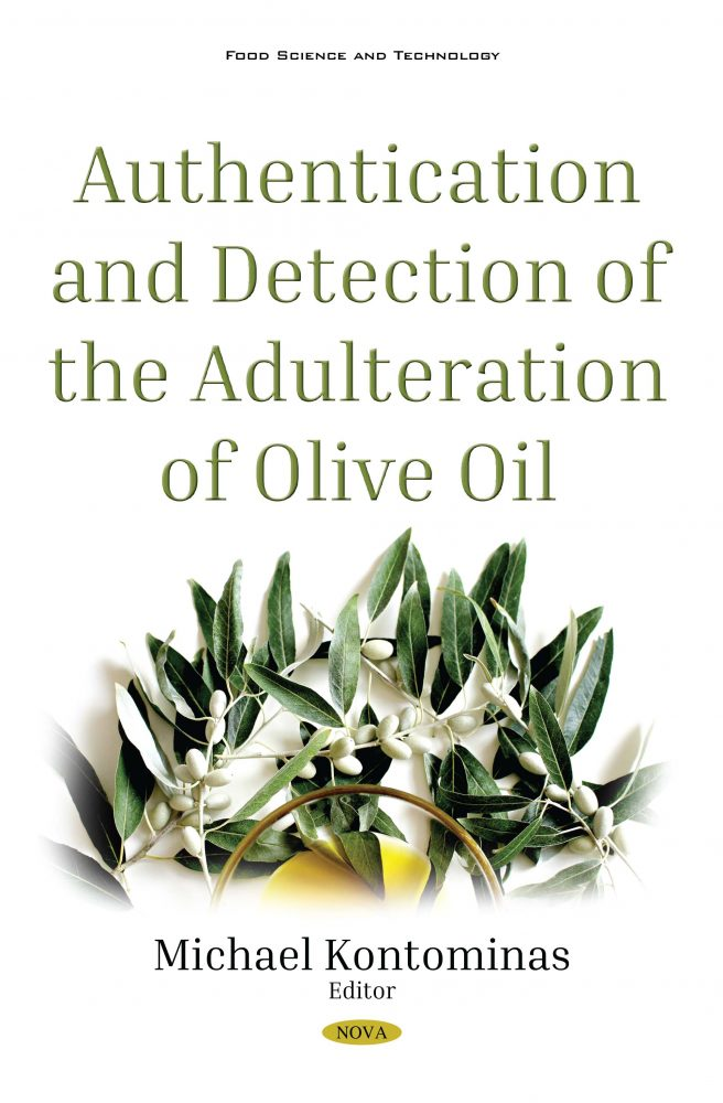 Authentication And Detection Of Adulteration Of Olive Oil