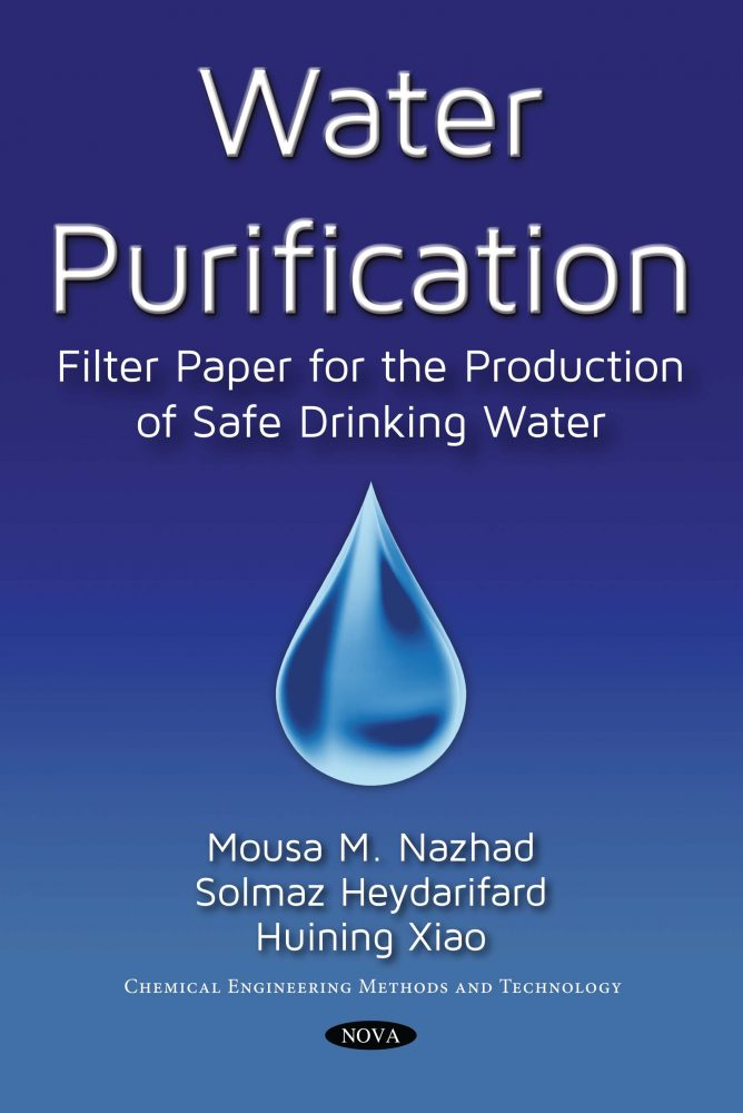 Water Purification Filter Paper For The Production Of Safe Drinking Water