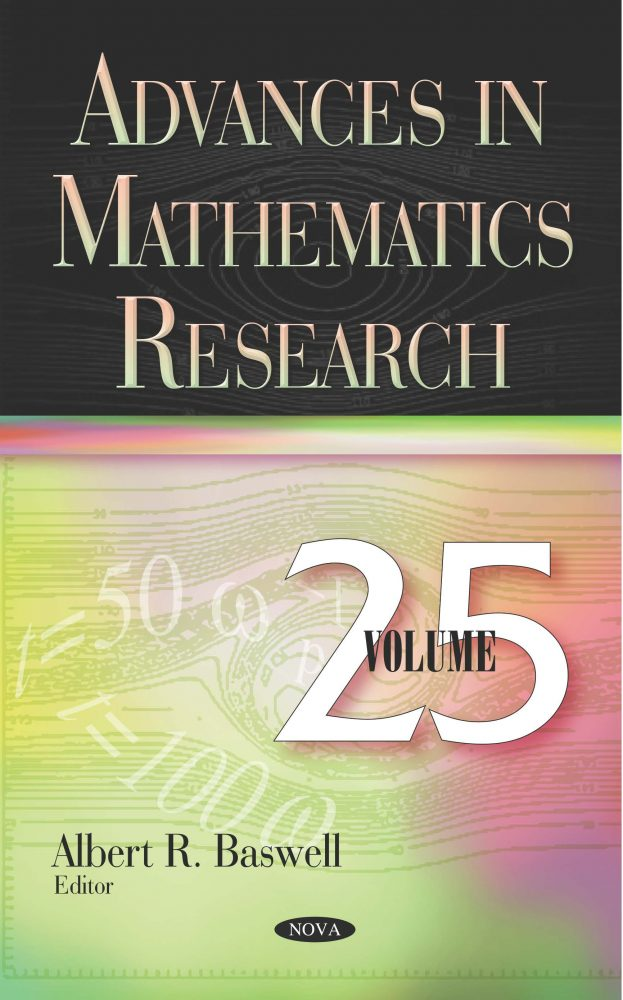 Advances in Mathematics Research  Volume 25