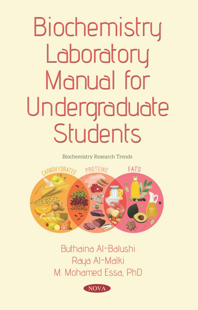 Biochemistry Laboratory Manual For Undergraduate Students Nova