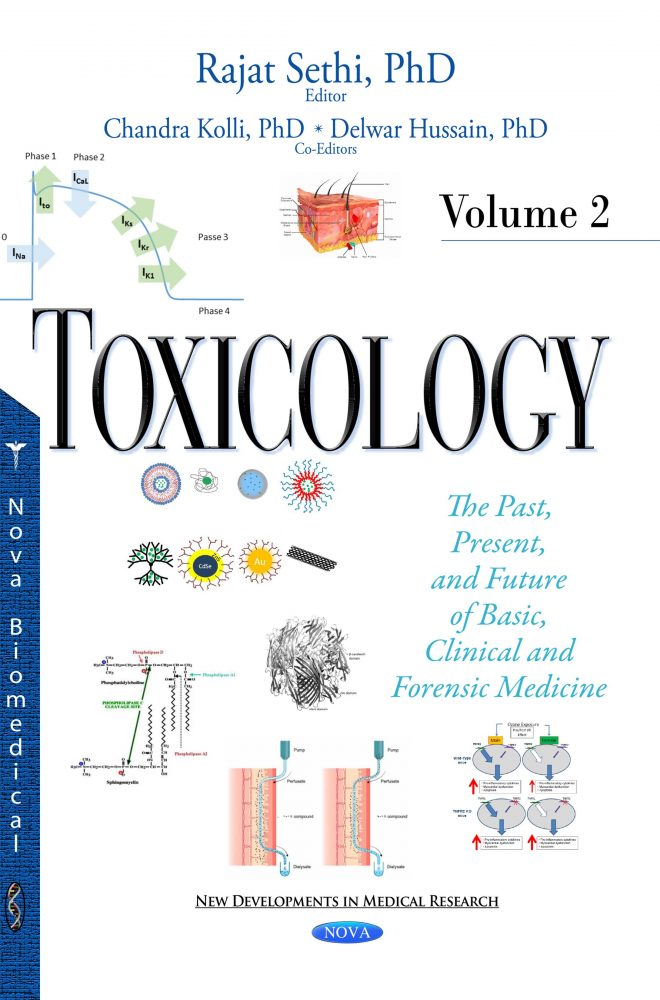 Toxicology The Past Present And Future Of Basic Clinical And Forensic Medicine Volume 2 Nova Science Publishers