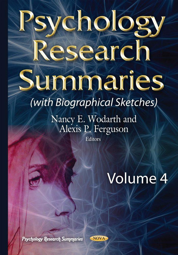 Psychology Research Summaries  Volume 4