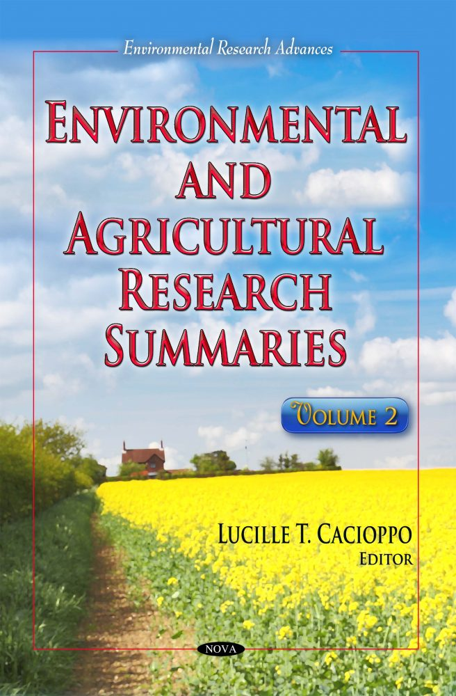Environmental and Agricultural Research Summaries  Volume 2