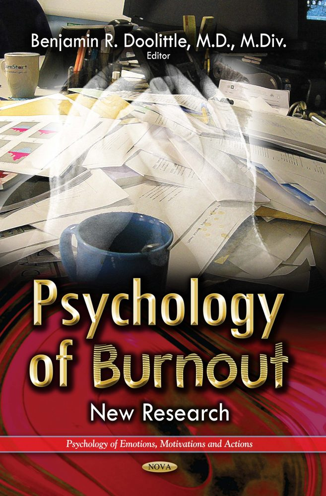 Psychology of Burnout: New Research